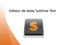 Image tutoriel Sublime Text